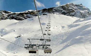 TAKE A RIDE: Lifts link up 3899m of the vast skiing area.